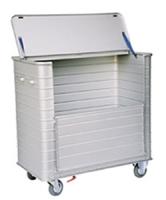 Wózek higieniczny aluminiowy WH-03